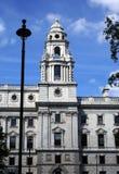 HM казначейство Здание казначейства в Лондоне, Англии, Европе Стоковые Фото