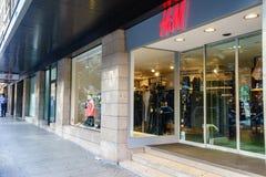 HM boutique Stock Photo