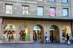 HM boutique Stock Photography