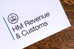 HM dochód i Customs zdjęcia stock