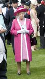 HM Queen Elizabeth Stock Photography