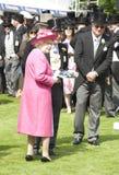 HM Queen Elizabeth II Royalty Free Stock Photo
