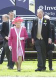 HM Queen Elizabeth II Royalty Free Stock Images