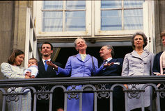 HM QUEEN MARGRETHE II BIRTHDAY Royalty Free Stock Photography