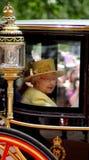 HM rainha Elizabeth II Fotos de Stock Royalty Free