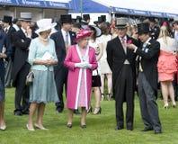 HM regina Elizabeth II, principe Fotografie Stock
