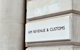 HM Revenue & costumes Imagens de Stock
