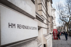 HM Revenue & Customs Stock Photo