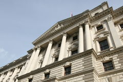 HM Treasury Building, London Stock Photography