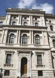 HM Treasury. the Treasury, London, England, UK Royalty Free Stock Image