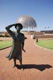 hmas dama waitiing pamiątkowy Sydney Fotografia Royalty Free