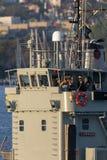 HMAS Labuan L 128 Balikpapan-klasselandungsboot von der k?niglichen australischen Marine in Sydney Harbor stockfotografie
