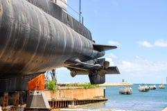HMAS OVENS: Oberon Class Submarine Stern Stock Image