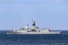 HMAS Perth FFH 157 klasy fregata Kr?lewska Australijska marynarka wojenna zdjęcie stock