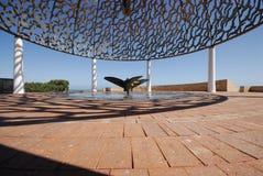 HMAS Sydney Denkmal-Propeller Lizenzfreie Stockfotos