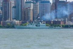 HMCS Athabaskan en la semana de la flota Fotos de archivo libres de regalías