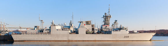 HMCS Charlottetown Stock Image