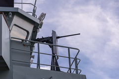 HMCS-Gans-Bucht, Gewehr Stockfotografie