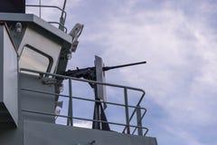HMCS Goose Bay, gun Stock Photography