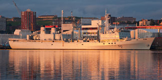 HMCS Preserver (AOR 510) Royalty Free Stock Photography