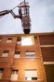 HMI-dagsljusprojektor som hänger III arkivbild