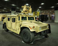 2016: HMMWV generale (Humvee) Immagini Stock