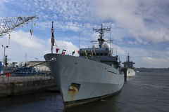 HMNB Devonport Royalty Free Stock Images
