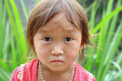 Hmong孩子 免版税库存照片