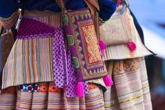 Hmong的服装 免版税库存照片