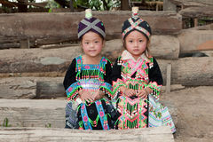 hmong девушок Азии стоковая фотография