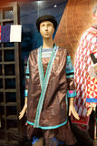 Hmong衣物显示在贵州,中国 库存照片
