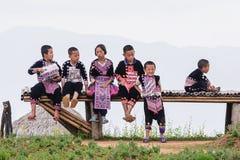 Hmong children. Stock Photography