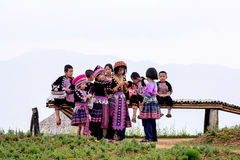Hmong children. Royalty Free Stock Photo
