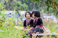 Hmong children. Royalty Free Stock Images