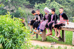 Hmong children. Royalty Free Stock Photography