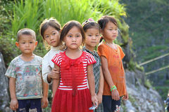 Hmong children Stock Photography