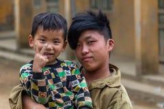 Hmong etnhic mniejszość Wietnam obrazy stock