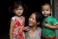 Hmong family Royalty Free Stock Photo