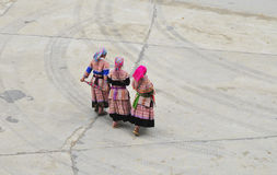 Hmong flickor Royaltyfria Foton