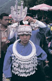 Hmong  in southwest  China Stock Photos