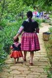 Hmong kvinna Royaltyfri Bild