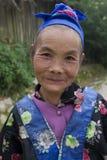 Hmong, mulher adulta em Laos fotos de stock