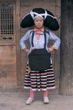 Hmong nel sud-ovest Cina Immagini Stock