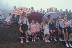 Hmong no sudoeste China Fotos de Stock