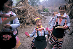 Hmong no sudoeste China Fotografia de Stock
