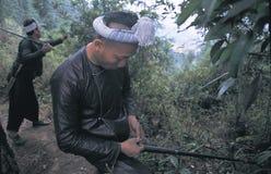 Hmong no sudoeste China fotografia de stock royalty free