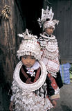 Hmong no sudoeste China foto de stock