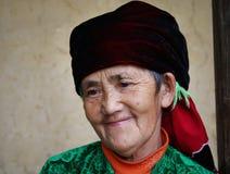 Hmong pensionär Arkivfoto
