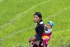 Hmong people in Vietnam Royalty Free Stock Images