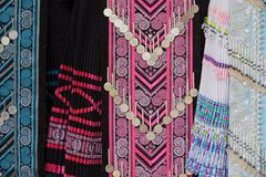 Hmong tribe clothes Stock Images